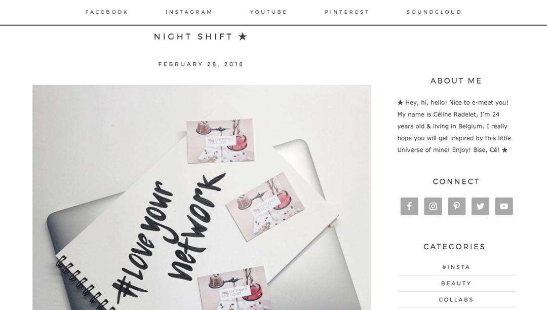 Celine Radelet Lifestyle Blog